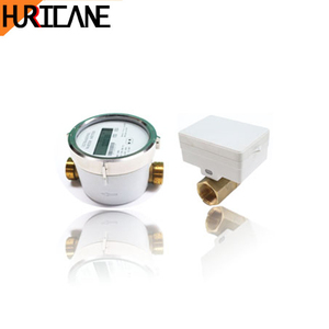 Lorawan water meter spare parts with infrared valve