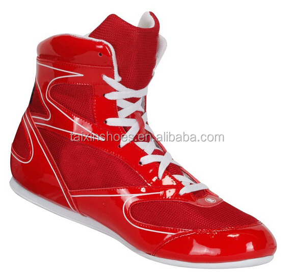 new fashion wresting shoes sports leather wrestling shoesfor sale for men designer shoes from china