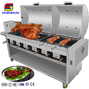 Commercial BBQ Grill grilling rotisserie chicken kamado bbq rotisserie