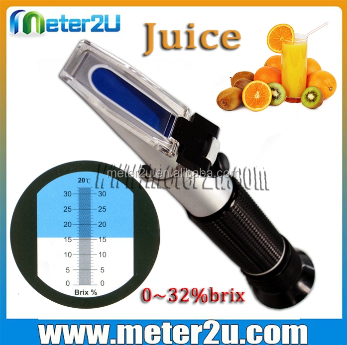 Best price brix refractometer 0-32%ATC brix conversion to sugar content