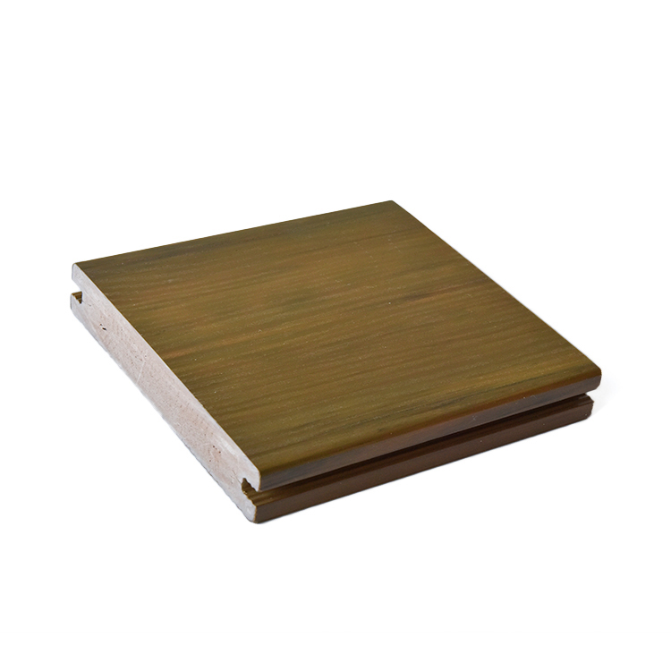 Building material Eco-friendly waterproof wpc decking DIY flooring look like wood
