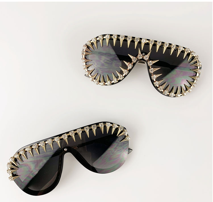 Fashion  Round designer handmade luxury sunglasses for traveling shopping and driving wholesale glasses