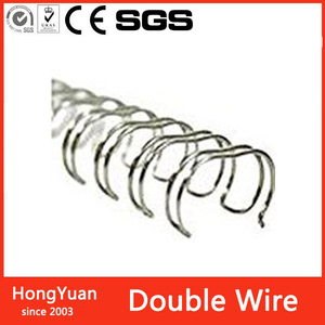 TOP Quality promotion custom Double Wire Binder steel wire o binding binding iron wire