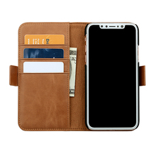 Cell Phone Wallet Leather Case for iPhone X 10 Mobile Cover