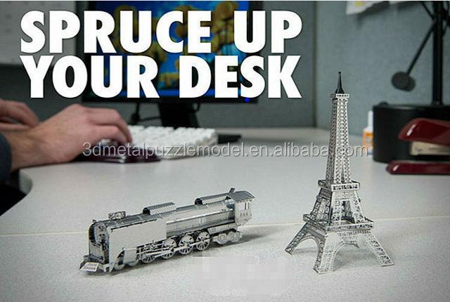 World's Famous Building Metal Puzzle The Shard 3d Diy Puzzle