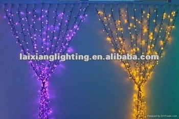 Decorative Outdoor Indoor Christmas Led Light Curtain Design 2017
