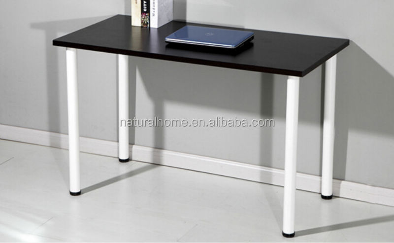 Damro Office Furniture Computer Table Unique Design Modern Wood Glass Cover  Surface Computer Desk Table