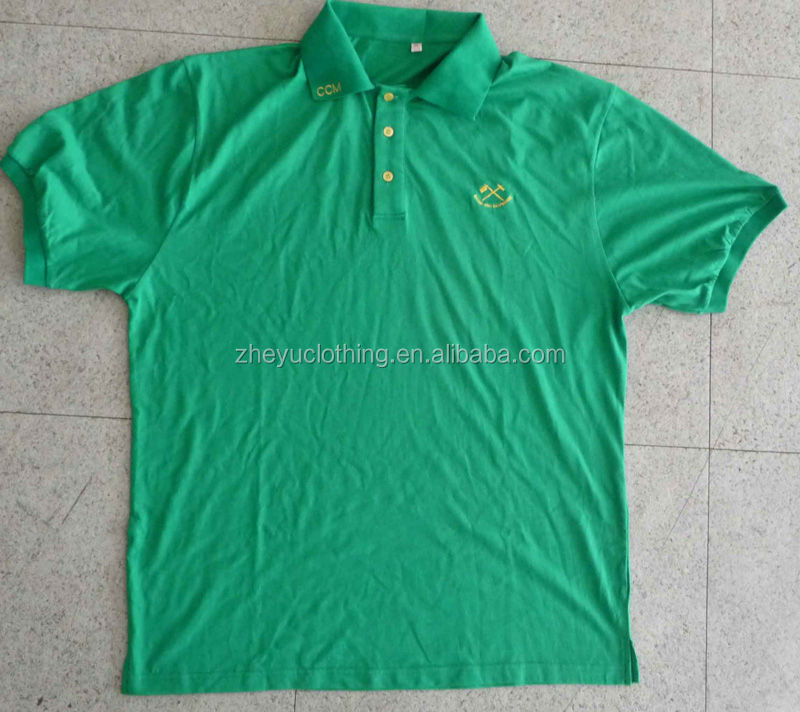 High quality custom 100cotton mens polo t shirt with collar/sleeves/placket contrast color