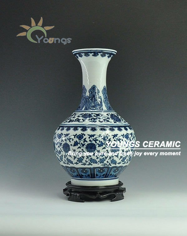 Chinese Porcelain Blue And White Vases For Wholesale Buy
