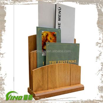 Old Shabby Chic Menu Card Sign Holder,Menu Display Stand,Vintage Restaurant  Menu Board - Buy Table Stand Menu Holder,Greeting Card Display