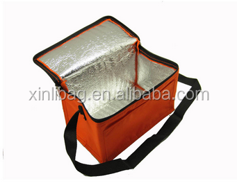 Useful food <strong>delivery</strong> cooler bag aluminum foil inner material used for food <strong>delivery</strong>
