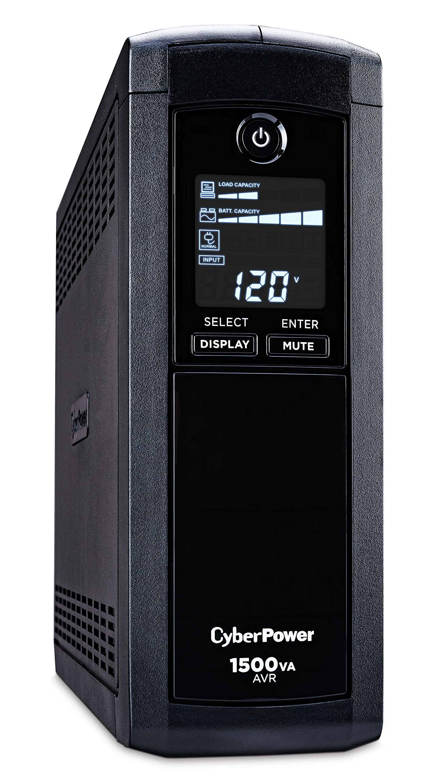 Cheap Mini Ups System Circuit Diagram Find Pcb Get Quotations Cyberpower Cp1500avrlcd Intelligent Lcd 1500va 900w 12 Outlets Avr