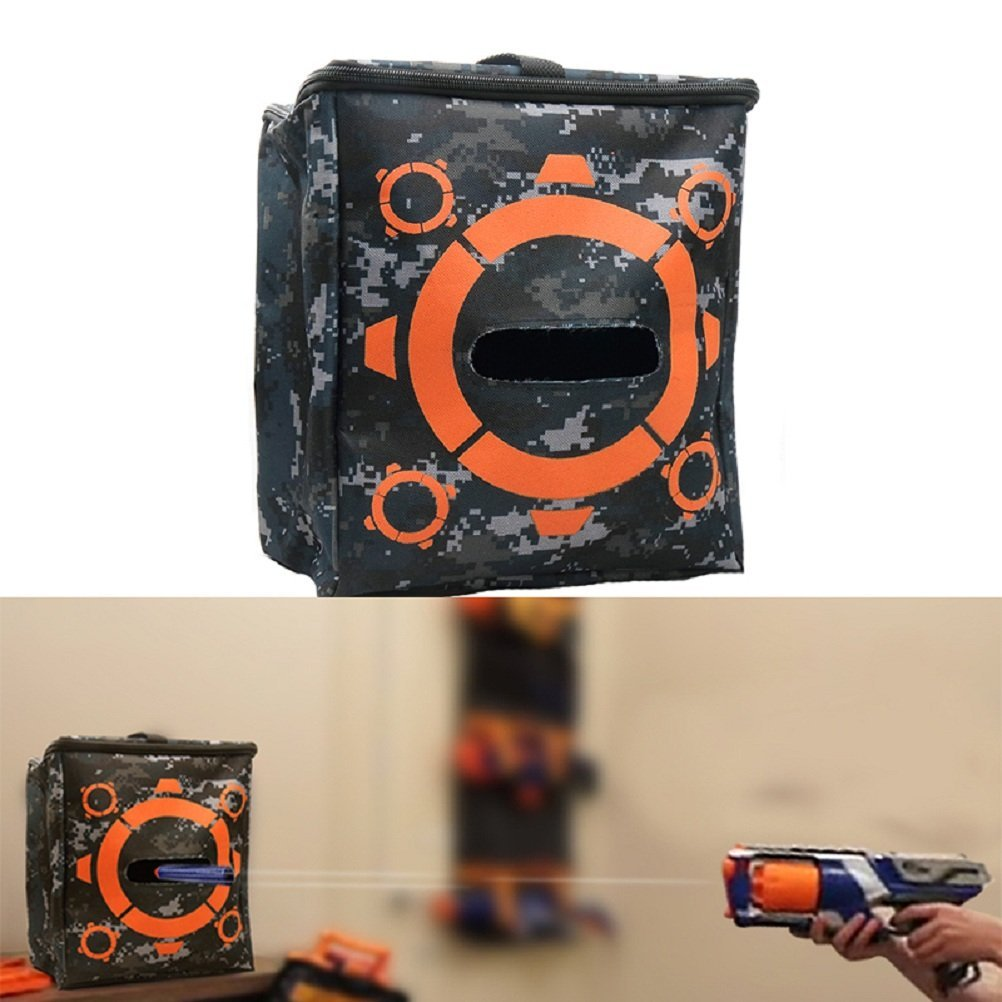 TOPSelling 1 Pcs Target Pouch for Nerf Elite Series Blasters Refill Clip Darts