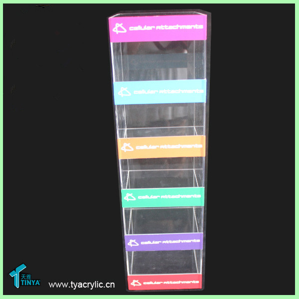 Factory Acrylic Cell Phone Accessory Display Stand,Accessory ...