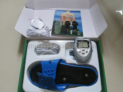 body physical therapy small tens slimming massager with foot massager shoes