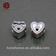 Best Gift For New Married Couple Heart Shaped Beads 925 Silver Bow European Charms