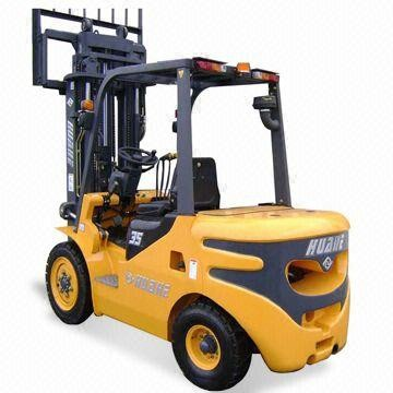 3.5t 2 Stage tcm forklift spares With Single Forklift Solid Tire for sale