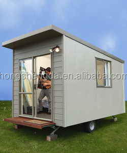 Prefab Sandwich Panel Mobile Portable Folding Office Cabin