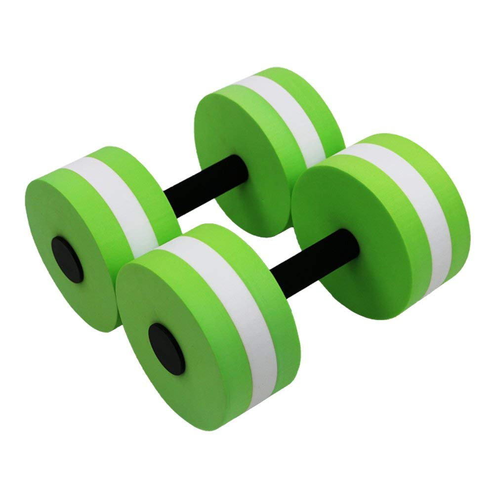 9bb2a9eae5e Get Quotations · Asdomo Exercise Dumbbells, Sports Aquatic Exercise  Dumbbells On Pool Exercises For Water Aerobics Training Fitness