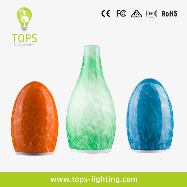 Chargeable LED romantic color changing led mood light