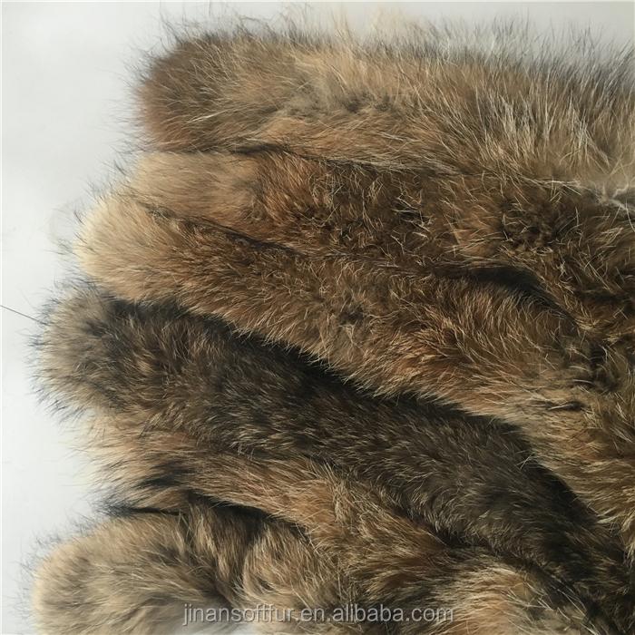 Genuine Raccoon Fur Strip Buy Fur Strip Genuine Fur