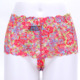 fancy ladies underwear prints slips in jacquard lace
