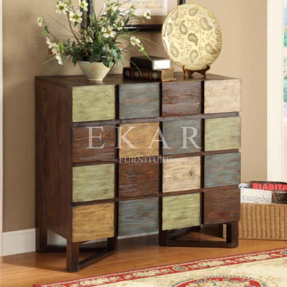 Colorful mobile armadio per soggiorno in legno antico cassettiera per soggiorno decorazione d - Armadio per soggiorno ...