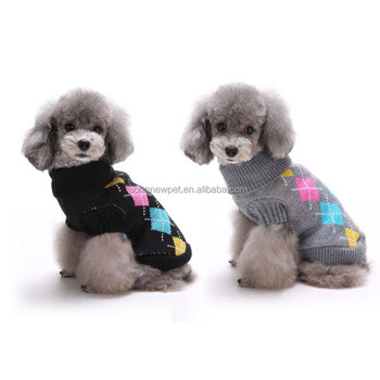 Crochet Pattern Dog Winter Clothes Sweater For Wholesale Puppy
