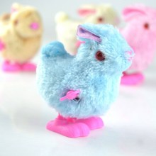 HALLO Ostern Tier Wind-Up Spielzeug <span class=keywords><strong>Kaninchen</strong></span> Bunny Huhn Spielzeug Frühling Huhn für großhandel