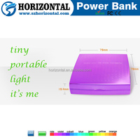Power bank brands mobile charge station ,led Mirror power bank ,power bank for philips dlp8000