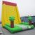 New Attractive Amusement Inflatable Play Equipment Inflatable Rock Climbing Slide