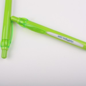 Huahao brand retractable plastic stamping logo windows 6 changing message pen