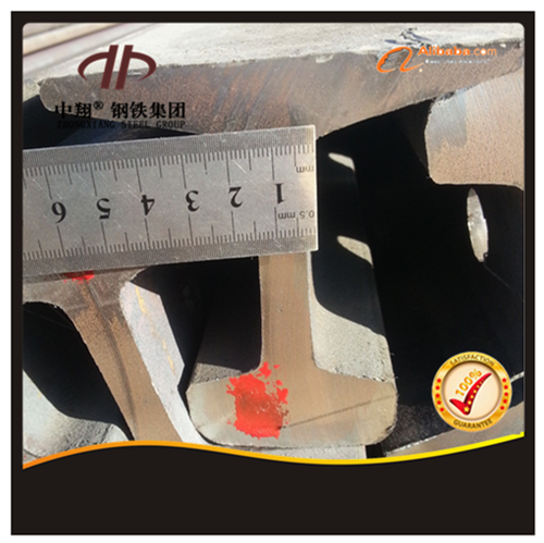 60kg common used train rail heavy steel rail