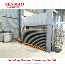decorative paper laminating short cycle melamine machine/Multi layers hot press machine for plywood