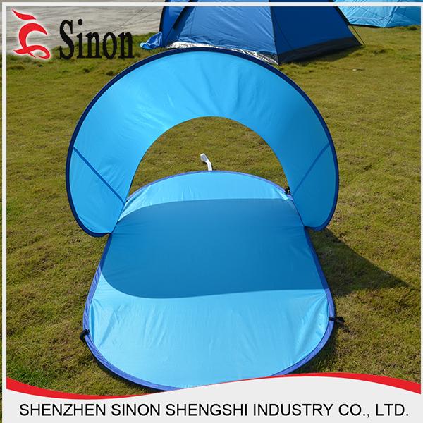 Cheap Camping Folding Beach Sun Shelter Shade Spring Steel Wire Pop ...