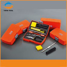 Swiss kraft tool set 8 pcs free sample hand tools with gift box