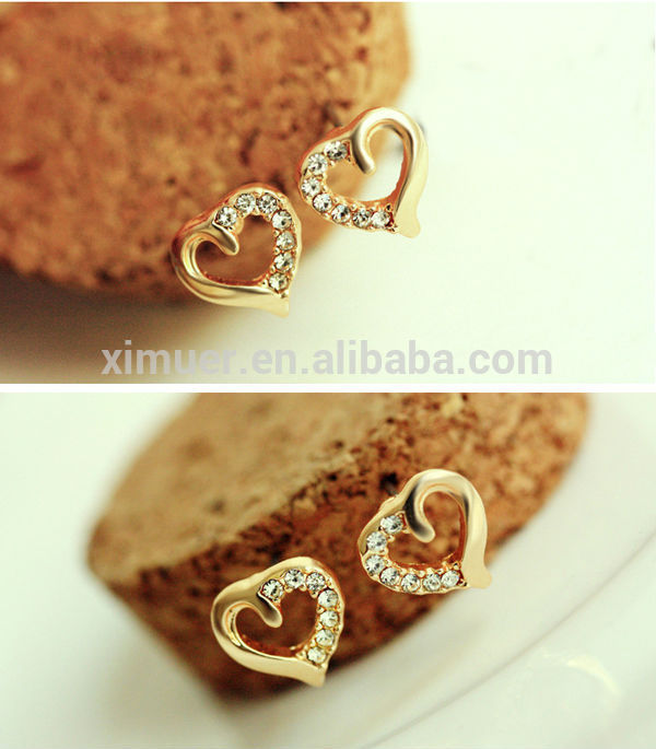 New design jewelry earrings Fashion gold earring View Gold