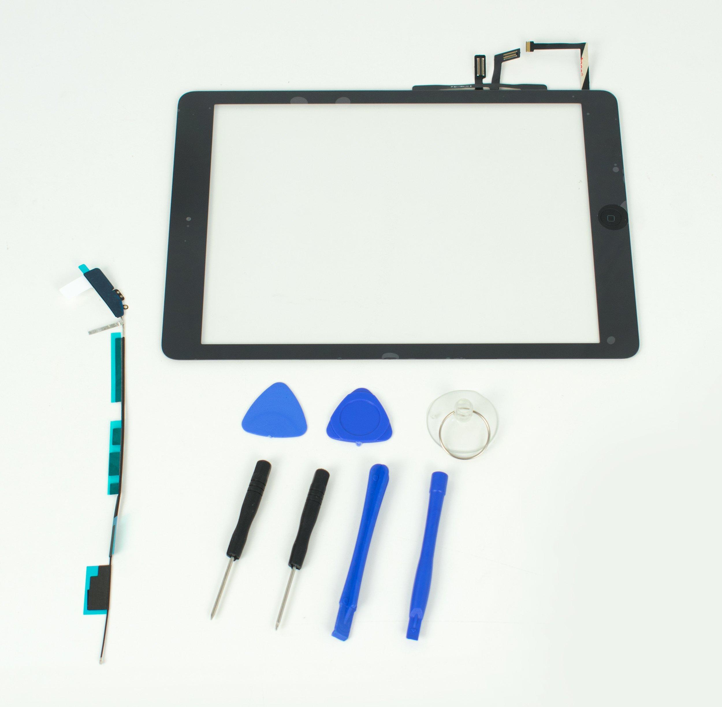 Apple iPad Air 1st Generation Digitizer for Model A1474, A1475-Black