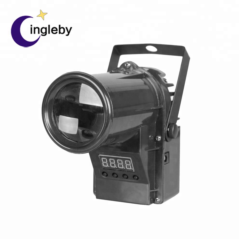 China manufacture disco lighting equipment DMX portable12v mini party led pinspot light RGBW