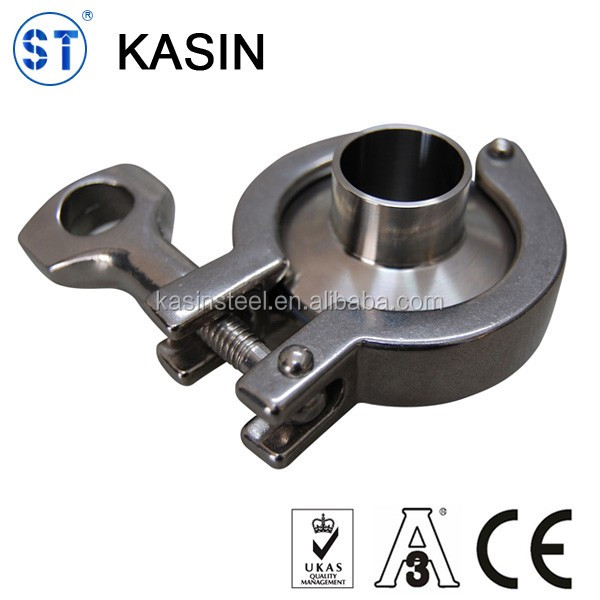 Stainless steel tri clover tc pipe clamp fitting
