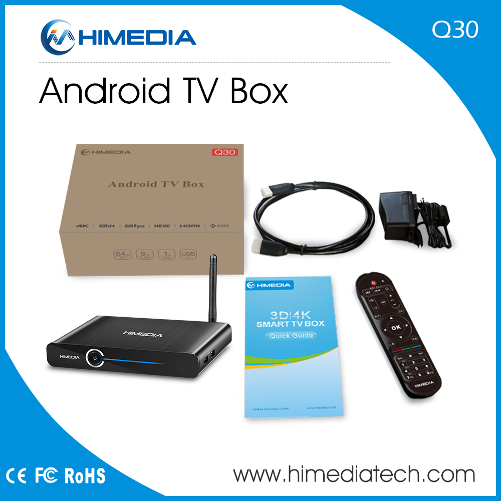 2017 New Product Himedia Q30 TV Media Player Android7.0 Android TV Box TV Box