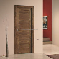 walnut entry doors American walnut veneered door