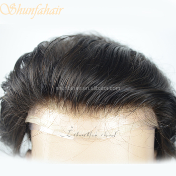 human hair full lace wig for men  hair loss treatment full swiss lace human 676eec00cc1e