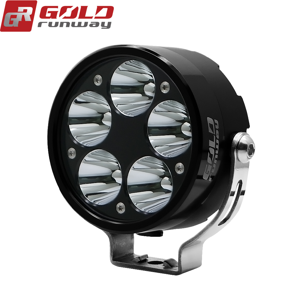 Goldrunway GR50X Universal Motorcycle LED Auxiliary Fog Light Assemblie Driving Lamp 50W Headlight For BMW R1200GS/ADV/F800GS