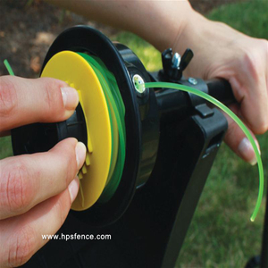 High quality with head card round nylon garden echo string trimmer