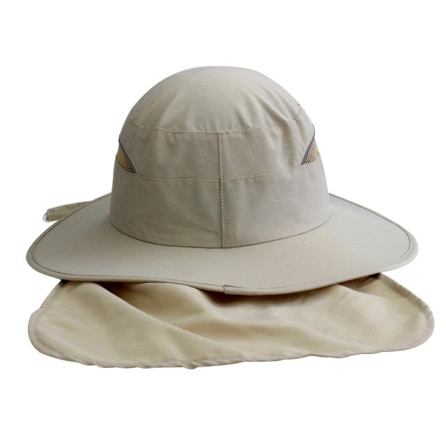 Blank Plain Dri-fit Light String Bucket Hat Plain Fishing Cap With Neck Cover