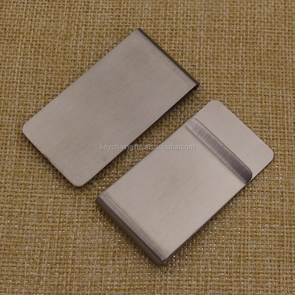 OEM and ODM stainless steel money clip hardware for gifts