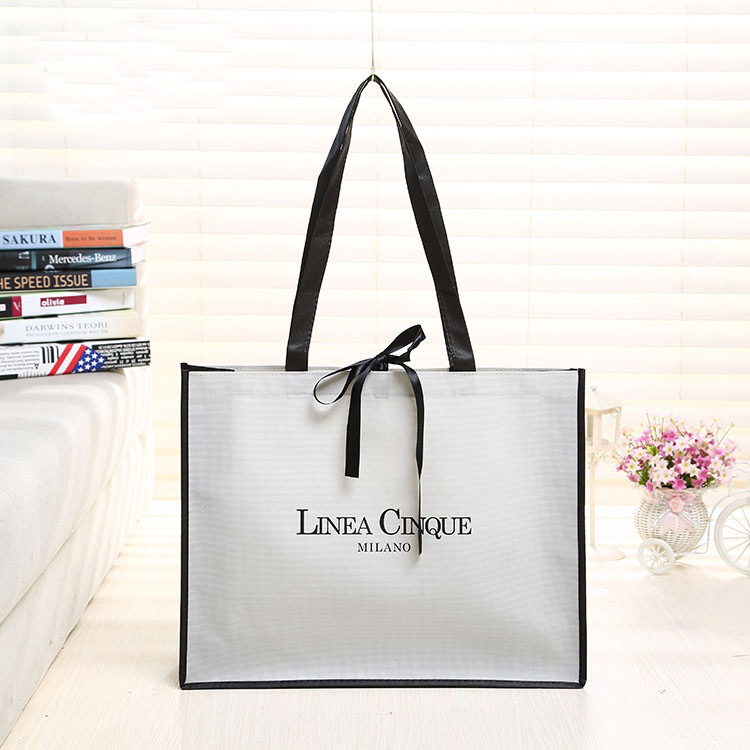Custom Promotional Cheap Tote  Shopping Non Woven bag with Logo
