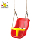 Outdoor High Back PE Plastic Swing Baby Chairs