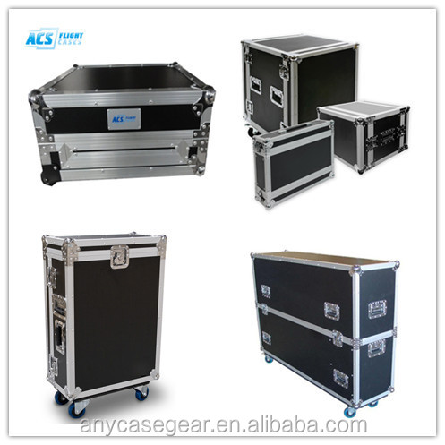 ACS new design Large Aluminum flight Case/Plasma Cases/Hard Case with wheels